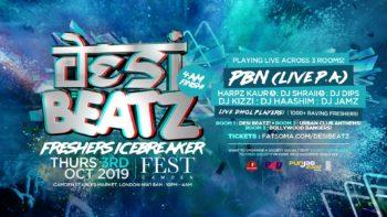 desi beatz freshers icebreaker