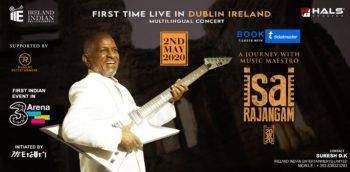 Maestro Ilaiyaraaja Live in Dublin | Isai Rajangam 2020