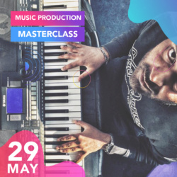 """London based music producer Charles Bosco is hosting his first-ever """"Music Production Masterclass"""". A wonderful opportunity for all aspiring musicians, artists and all interested in music production to learn from one of the best in the industry."""